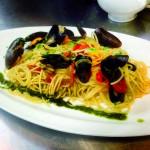 Spaghetti tarantina aux moules