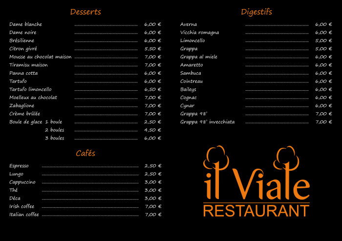 Il Viale restaurant_Carte plats(3)