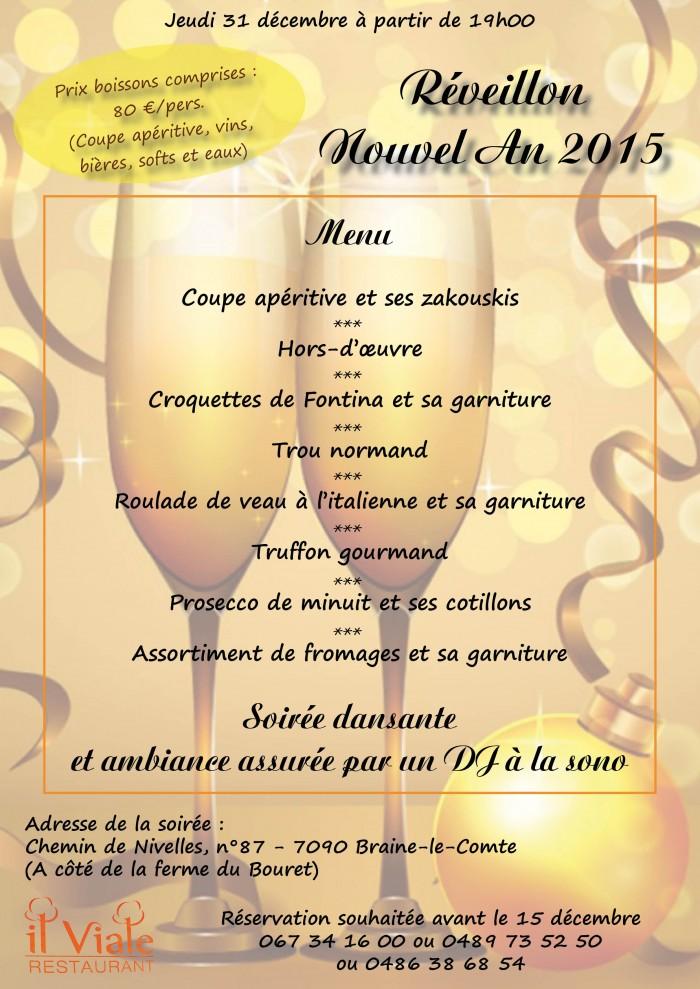 Restaurant il Viale_Nouvel An 2015