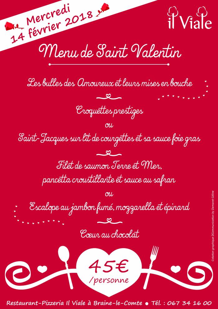 Il Vilale_Menu Saint Valentin