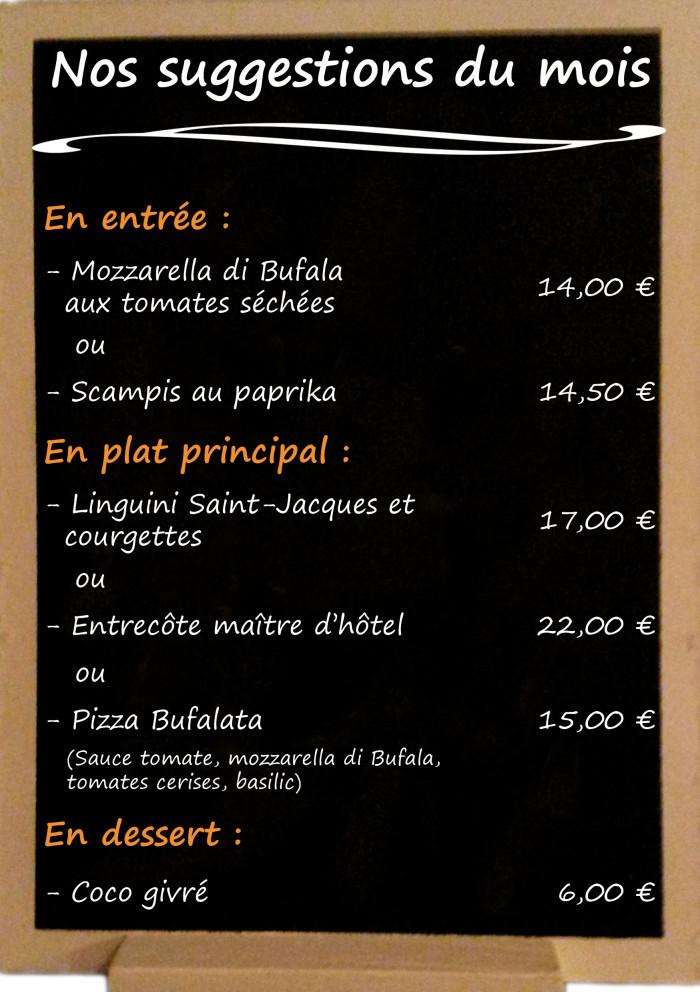 Restaurant il Viale_Suggestions mai 2018